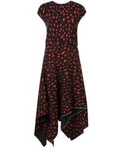 Proenza Schouler | Patterned Day Dress Womens Size 2 Silk