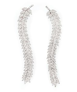 Joanna Laura Constantine | Encrusted Leaves Earrings