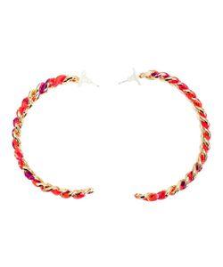 Gemma Redux   Chain Hoop Earrings