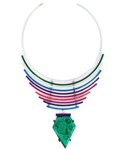 Gemma Redux   Malachite Pendant Necklace