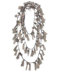 Goti | Tassel Embellished Necklace