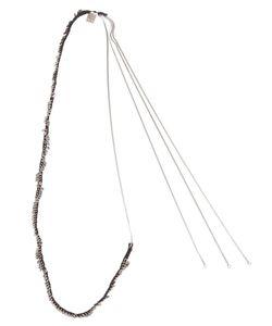 Goti | Disc Embellished Necklace
