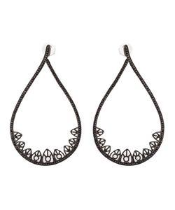 Joëlle Jewellery | Gothic Teardrop Diamond Earrings