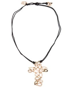 Gavello   Tear Drop Crucifix Necklace