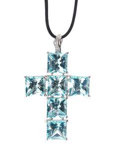 Gavello   Cross Pendant Necklace