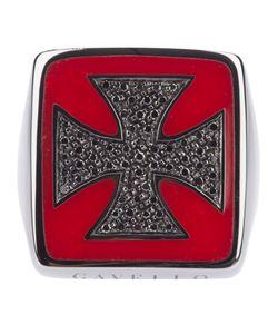 Gavello   Gold Cross Ring