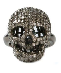 Christian Koban | Skull Diamond Ring
