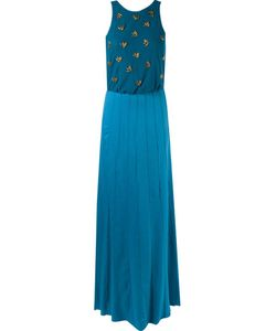 Emannuelle Junqueira   Embroidered Details Party Dress