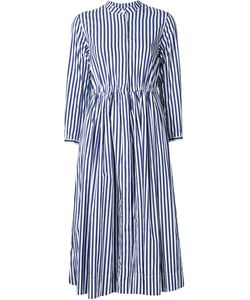 Casey Casey | Striped Mandarin Collar Dress