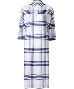 Casey Casey | Plaid Midi Shirt Dress