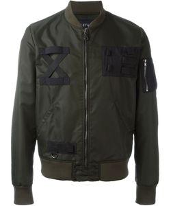 Letasca   Zipper Pocket Bomber Jacket