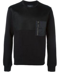 Letasca   Paneled Sweatshirt