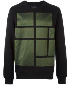 Letasca   Square Print Sweatshirt
