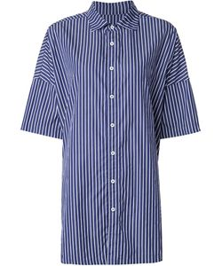 Casey Casey | Pinstriped Wide Sleeve Shirt