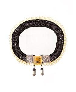 Emannuelle Junqueira   Ester Crochet Necklace