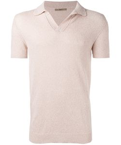 Nuur | Plain Polo Shirt Mens Size 54 Cotton/Polyamide