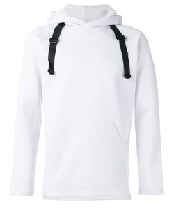 Y-3 | Buckle Strap Hoodie Mens Size Large Cotton/Polyester