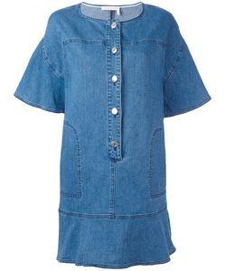 See by Chloé   Denim Dress Womens Size 38 Cotton/Spandex/Elastane