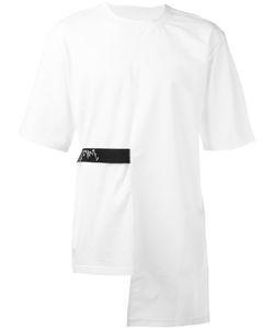 D.Gnak   Back Tape T-Shirt Mens Size 50 Cotton