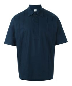 E. Tautz | Val Pleated Shortsleeved Shirt Mens Size Xs Cotton