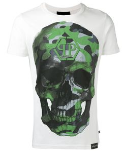 Philipp Plein | Agent T-Shirt Mens Size Large Cotton