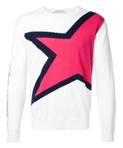 Education From Youngmachines | Star Jumper Mens Size 1 Cotton/Linen/Flax