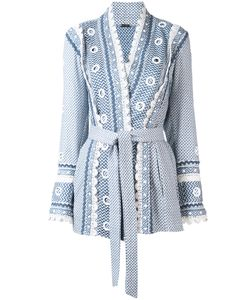 Dodo Bar Or | Printed Kimono Jacket Womens Size Small Cotton