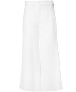 Rodebjer   Cropped Trousers Womens Size Medium Viscose/Cotton/Spandex/Elastane