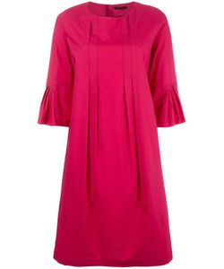 Odeeh | Pleated Detail Dress Womens Size 38 Cotton