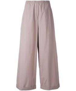 Humanoid | Cropped Palazzo Pants Womens Size Small Cotton