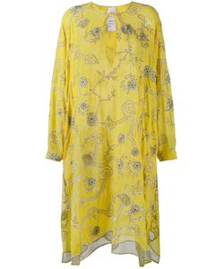 Ashish | Embroide Kaftan Dress Womens Size Xs Silk
