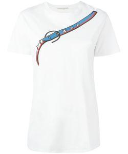 Marco de Vincenzo | Printed T-Shirt Size 40 Cotton