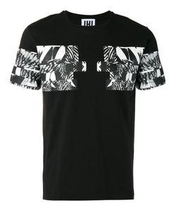 Les Hommes Urban   Graphic Print T-Shirt Mens Size Large Cotton