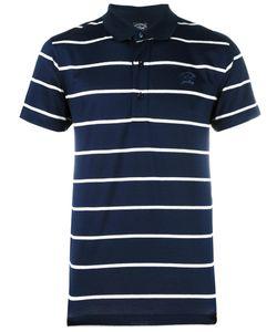 Paul & Shark | Striped Polo Shirt Mens Size Small Cotton