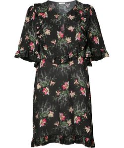 Vilshenko | Print Tunic Dress Womens Size 6 Silk