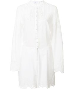 Yigal Azrouel | Embroide Eyelet Romper Womens Size 6 Cotton