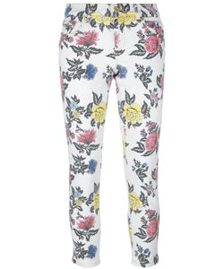House Of Holland | Roses Print Skinny Jeans Womens Size 14