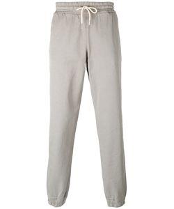 Soulland   Cuffed Hem Drawstring Trousers Mens Size Medium Cotton