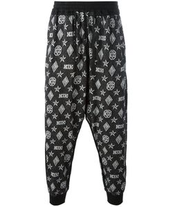 KTZ | Monogram Harem Trousers Mens Size Xl Cotton