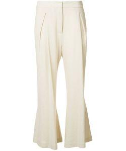 Dusan   Fla Linen Trousers Womens Size 42 Linen/Flax