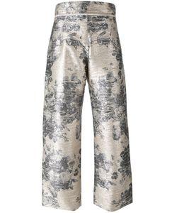 Aviù | Print Pants Womens Size 44 Polyester/Polyamide/Spandex/Elastane/Cotton