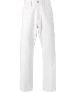 Raf Simons | Straight Bleached Jeans Mens Size 36 Cotton