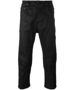 Rick Owens DRKSHDW | Cropped Trousers Mens Size 30 Cotton/Polyurethane/Spandex/Elastane