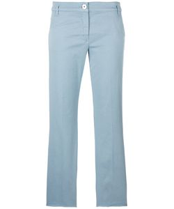 Dorothee Schumacher | Cropped Trousers Womens Size 6 Cotton/Spandex/Elastane