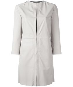 Drome | Single Breasted Coat Womens Size Large Lamb Skin