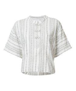 Derek Lam 10 Crosby | Striped Shift T-Shirt Womens Size Small