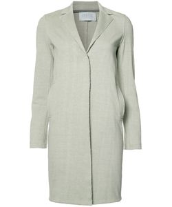 Harris Wharf London | Single Breasted Coat Womens Size 44 Cotton