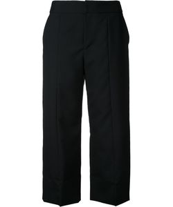 Le Ciel Bleu | Straight Cropped Trousers Womens Size 34 Wool