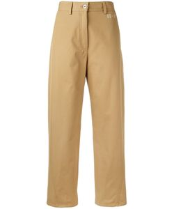 Hache   Straight Trousers Womens Size 46 Cotton