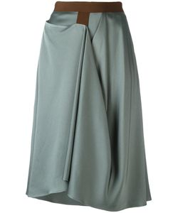 Chalayan | Enveloped Skirt Womens Size 44 Acetate/Viscose